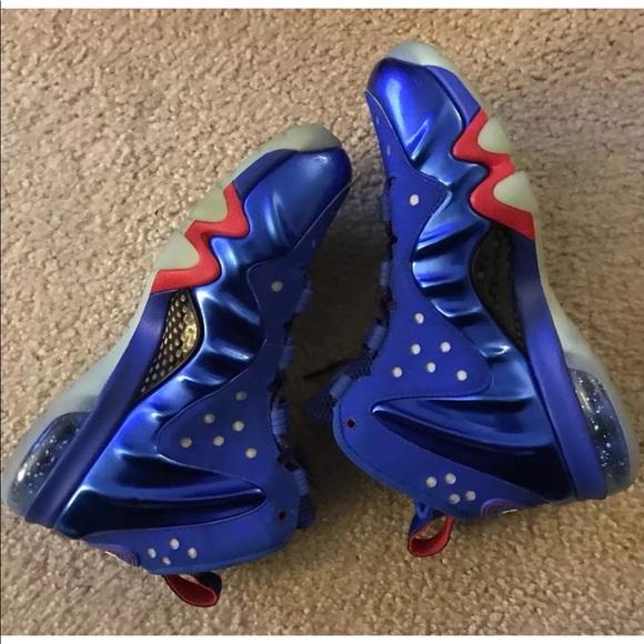 size 40 a93e4 a53b8 Nike Barkley 76ers Posite Max 555097-300 SIZE 7.5